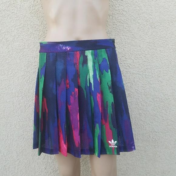 0c31e3558de78 Adidas x Pharrell Williams Camo Tree Active Skirt